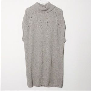 Vince Wool and Cashmere Turtleneck Tunic Dress